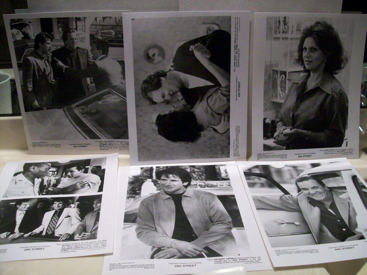Aiello, Danny Anthony Lapaglia Lainie Kazan Press Kit Signed Autograph 29Th Street 1991