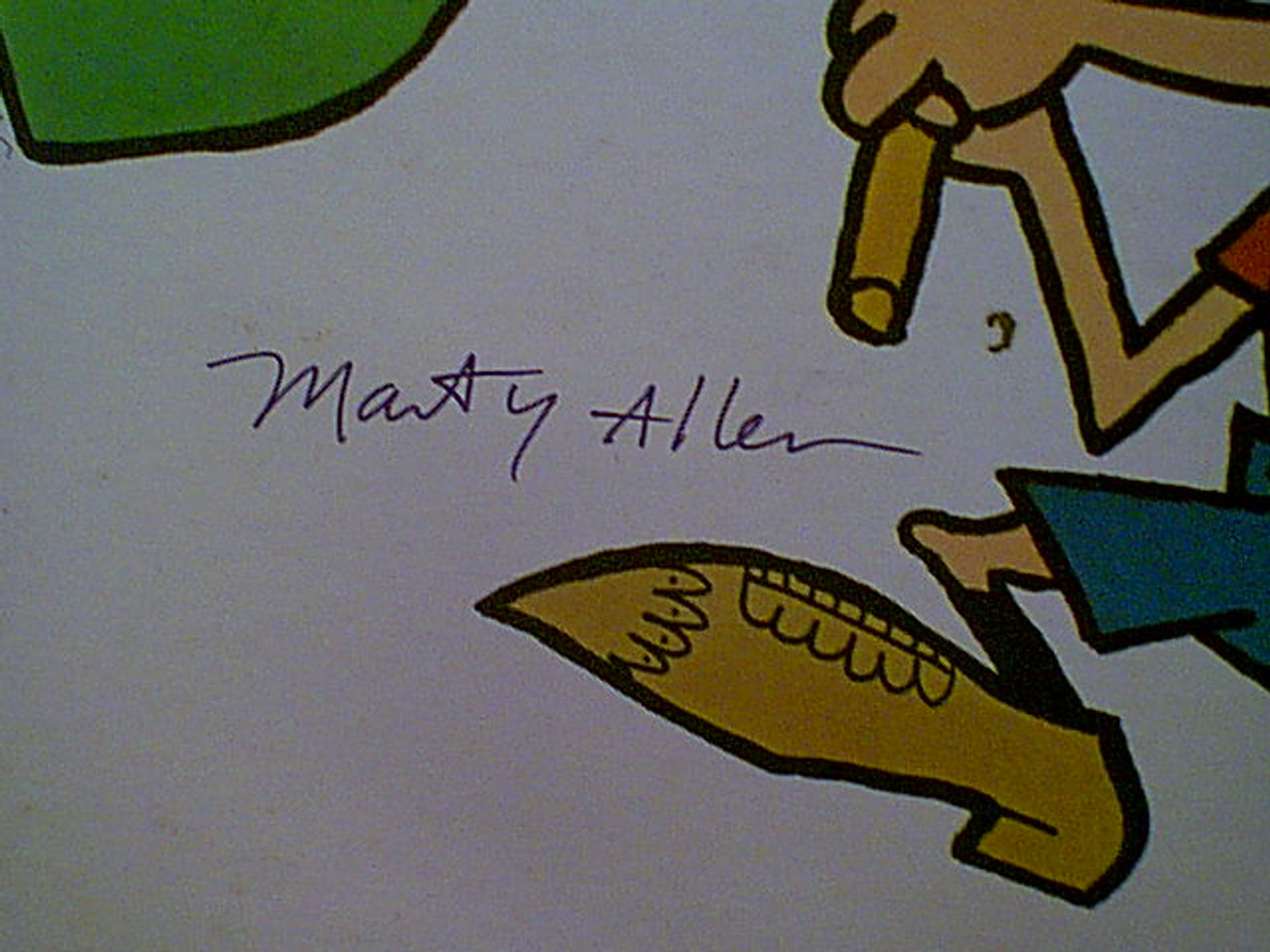 Allen And Rossi LP Signed Autograph Marty Allen Steve Rossi Tell The Truth