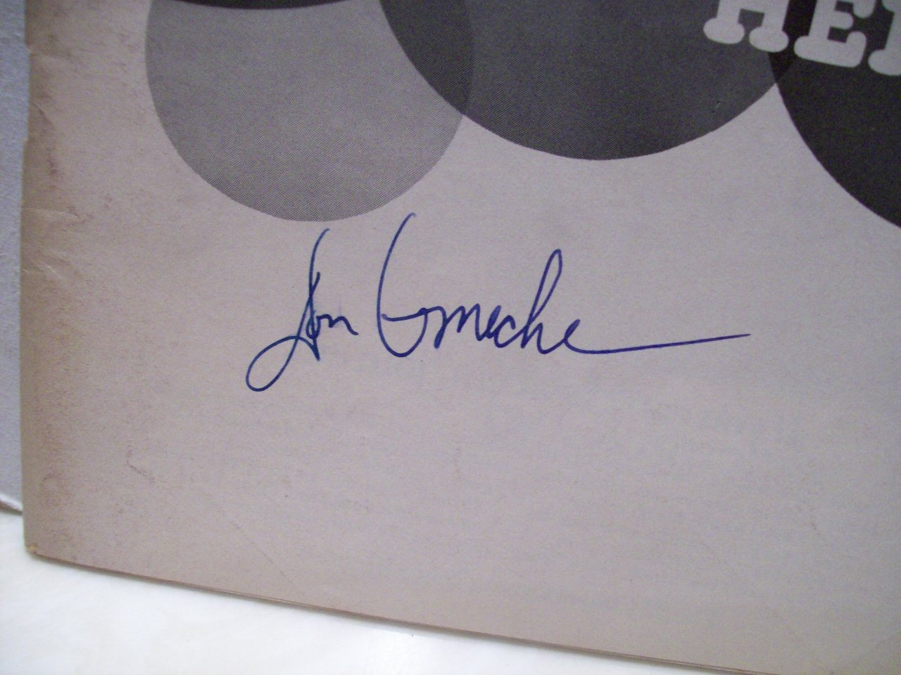 Ameche, Don Playbill Signed Autograph Henry Sweet Henry 1967