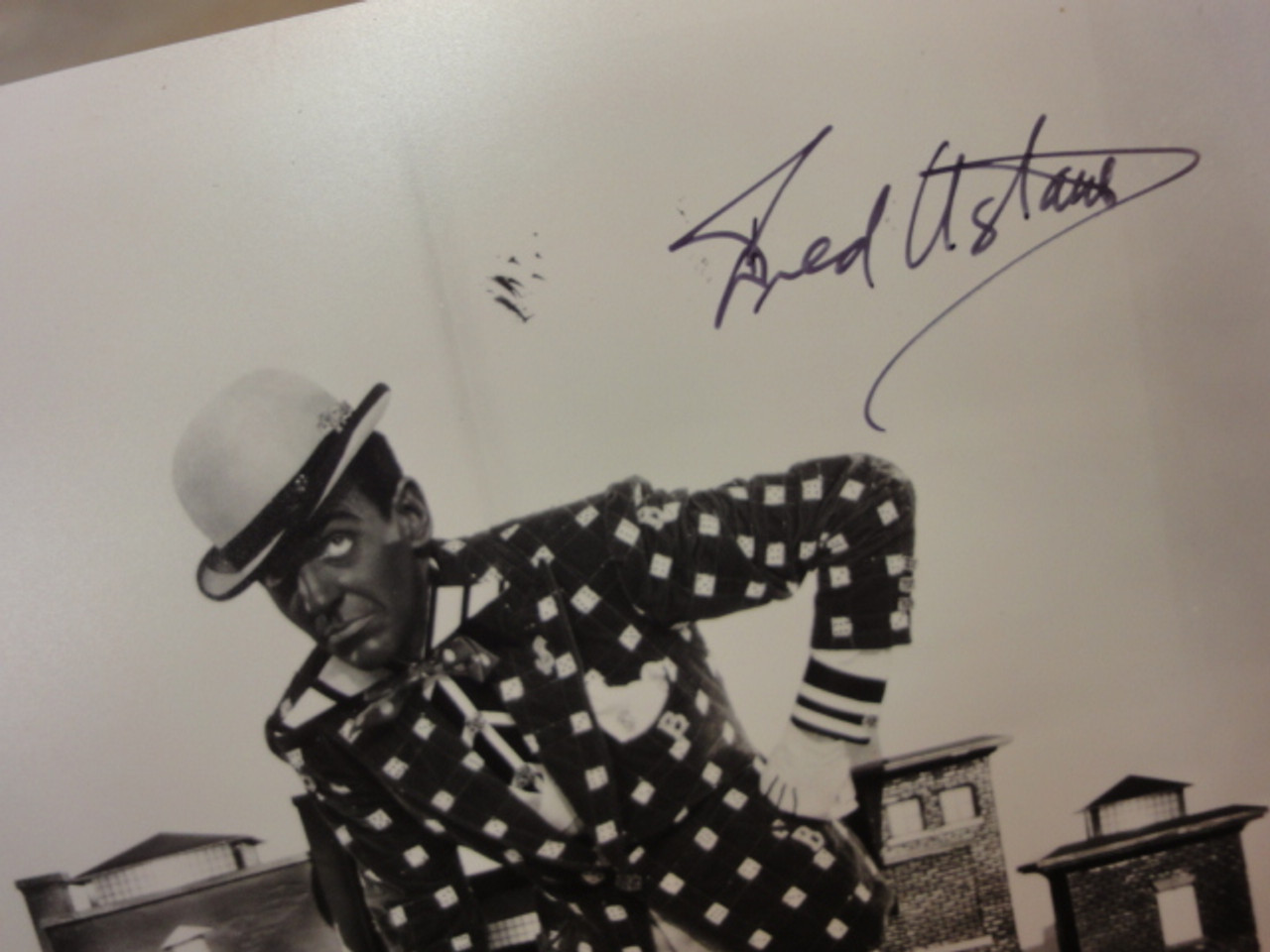 """Astaire, Fred Photo Signed Autograph """"Swing Time"""" Movie Scene"""