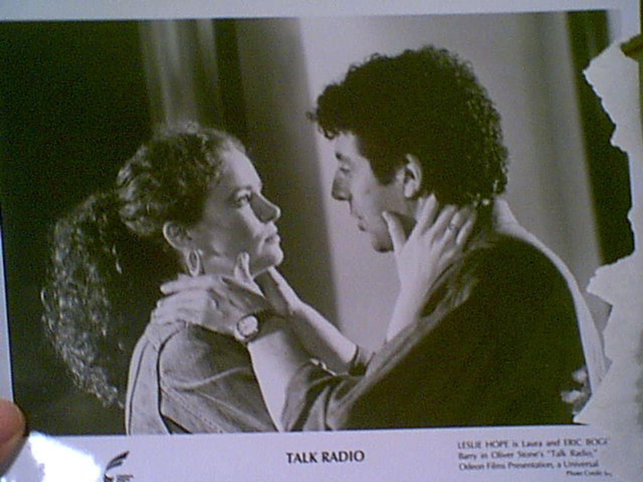 "Baldwin, Alec & Ellen Greene 1988 Photo ""Talk Radio"" Signed Autograph Set Of 9 Movie Scene Photos"