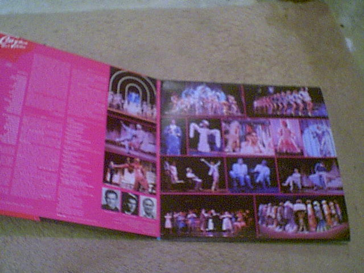 """Barry, Gene & George Hearn """"La Cage Aux Folles"""" 1983 LP Signed Autograph Original Cast Color Photos"""