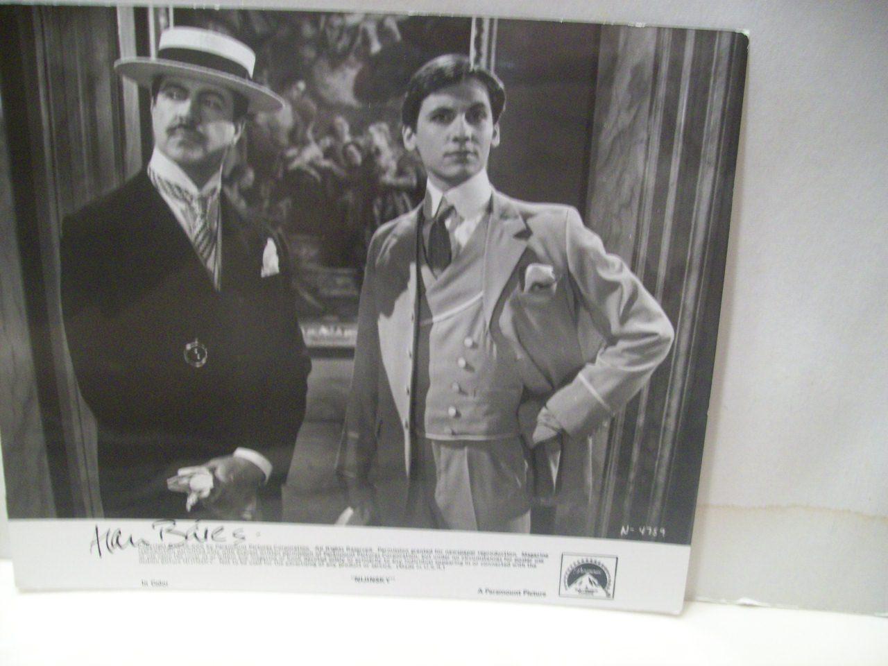 Bates, Alan Photo Signed Autograph Nijinsky 1980