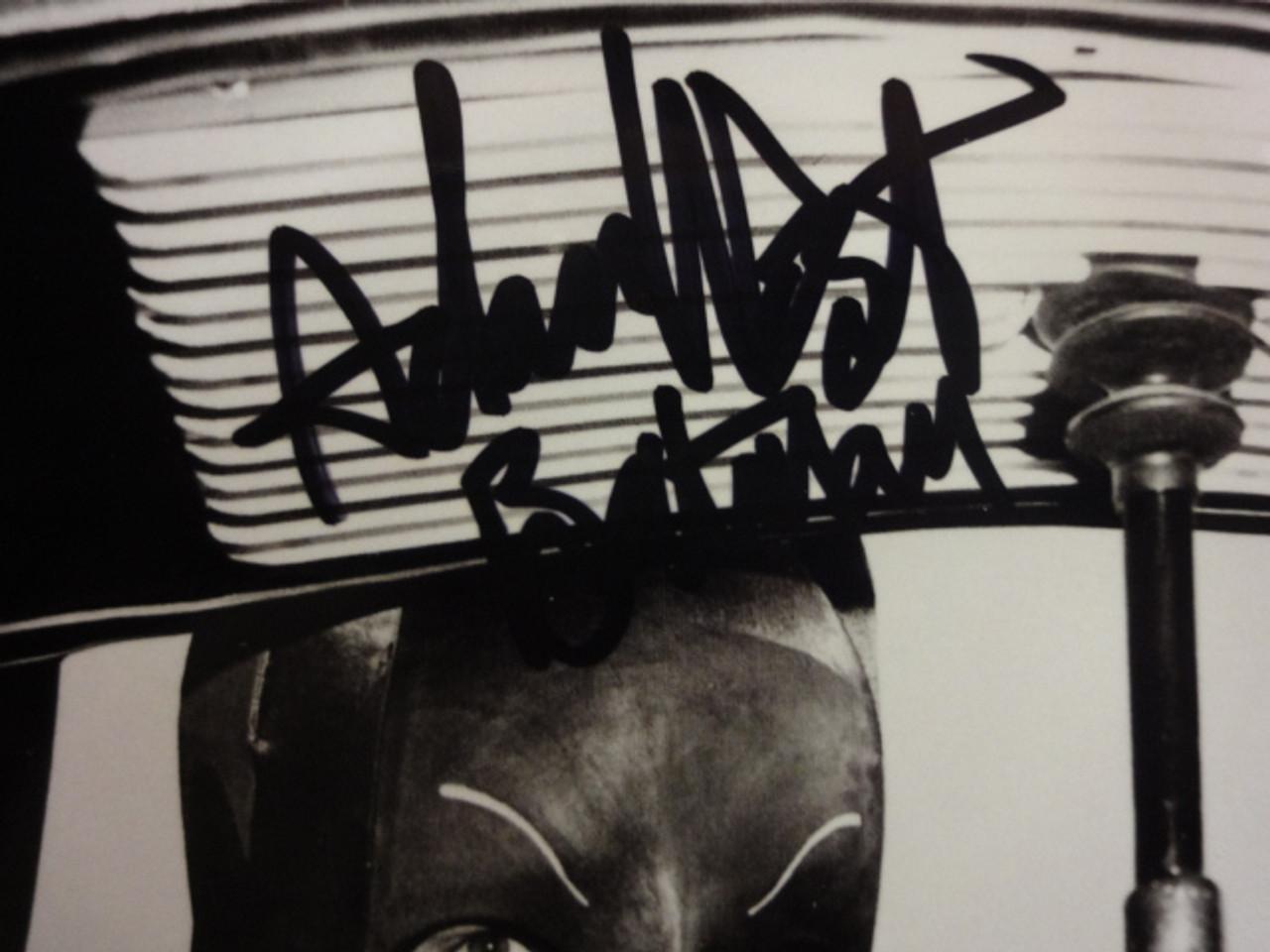 Batman Adam West and Burt Ward Photo Signed Autograph Television Scene