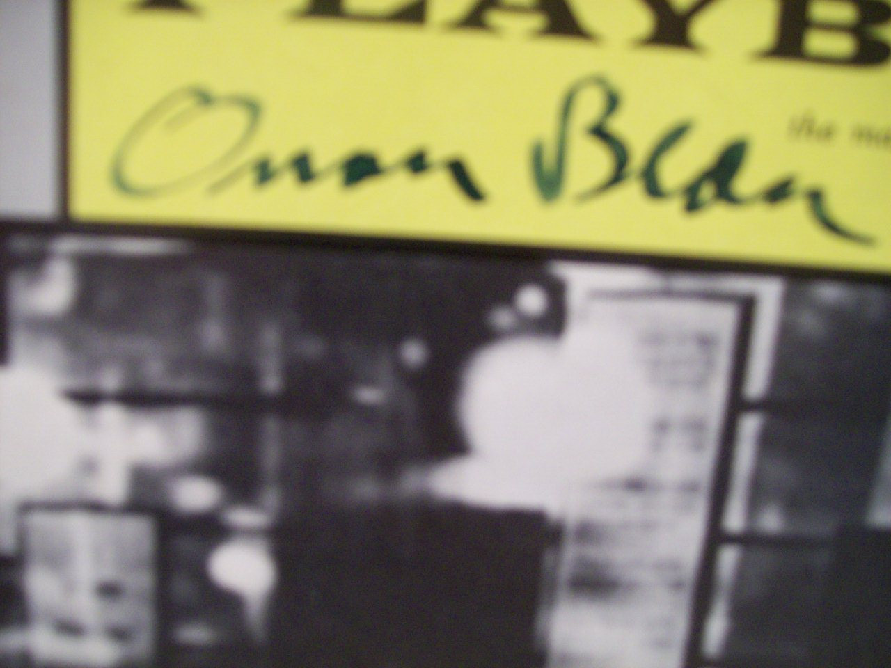Bean, Orson Burgess Meredith Playbill Signed Autograph I Was Dancing 1964