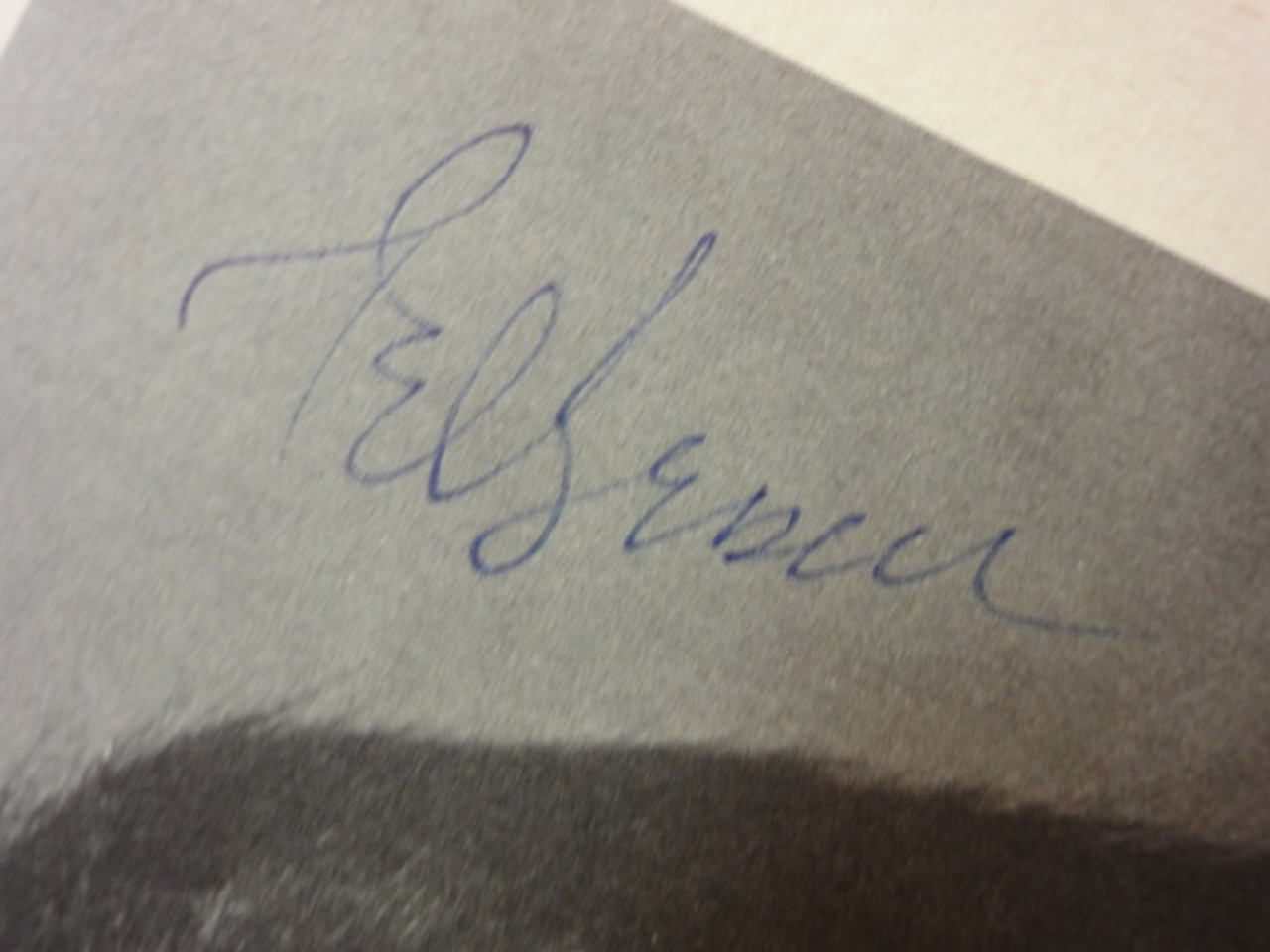 Bessell, Ted Photo Signed Autograph