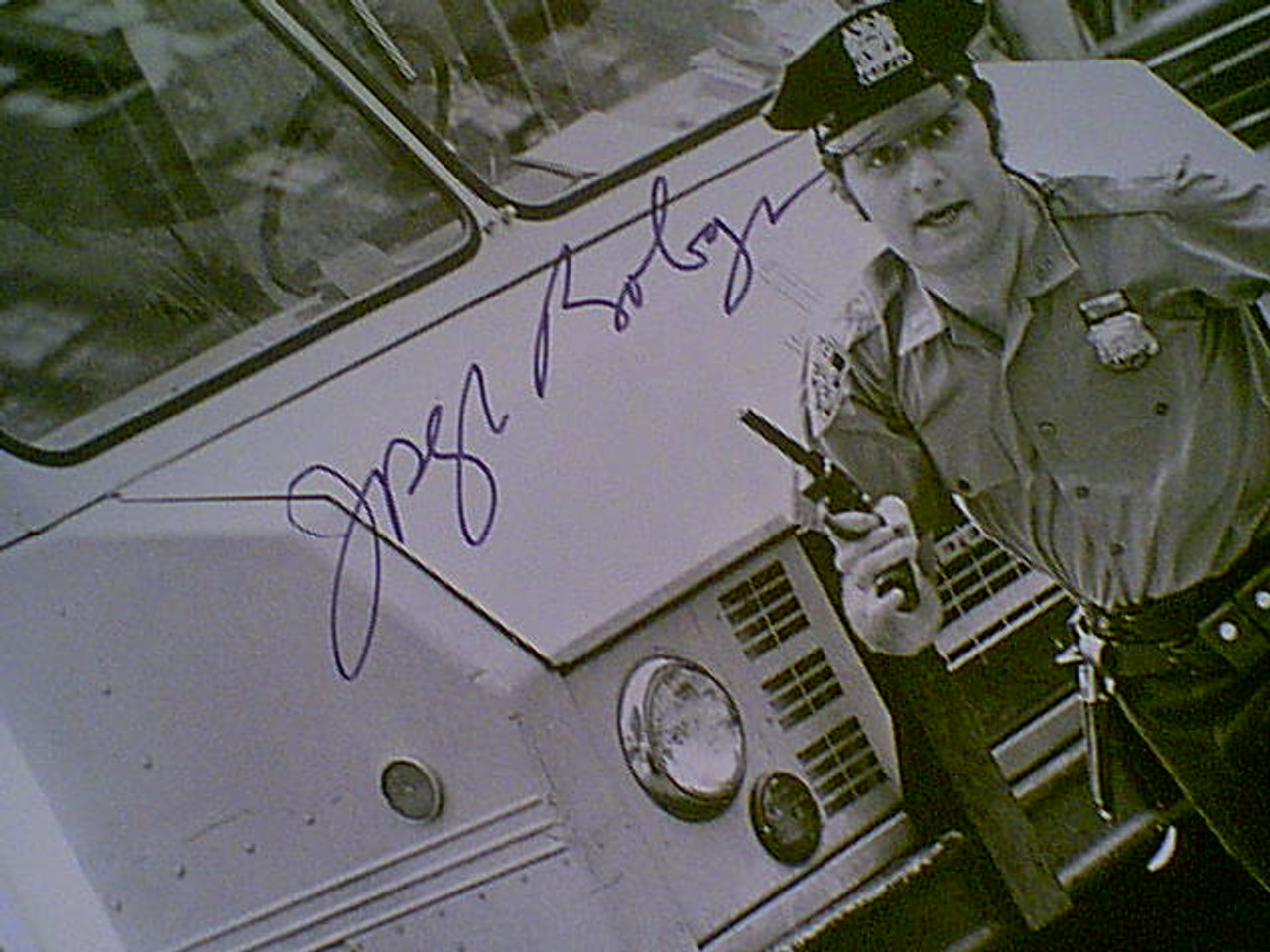 "Bologna, Joseph 1973 Photo ""Cops & Robbers"" Signed Autograph Set Of 8 Movie Scene Photos"