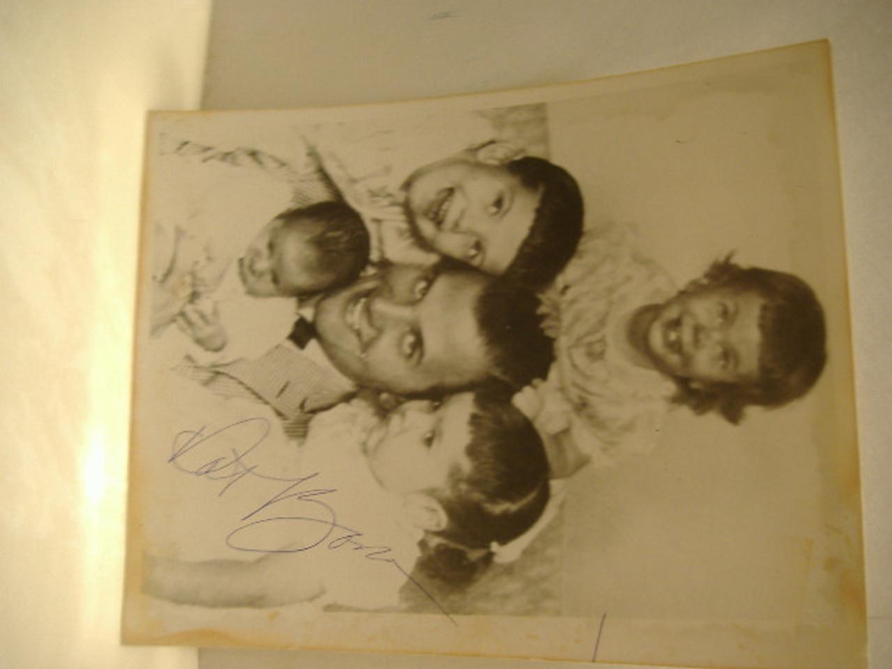 Boone, Pat Photo Signed Autograph R&B Ballads Blues