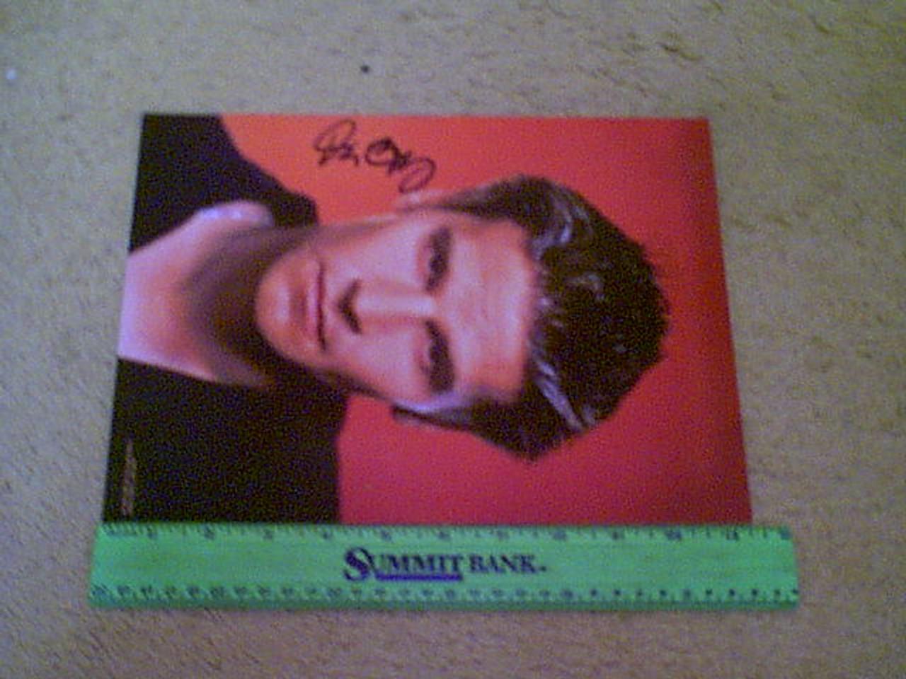 """Boreanaz, David Color Photo Signed Autograph """"Angel"""""""
