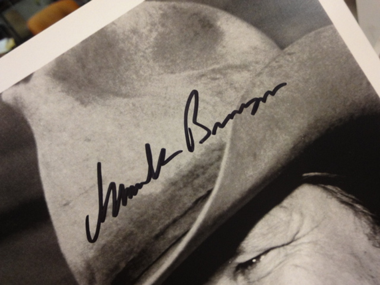 Bronson, Charles Photo Signed Autograph