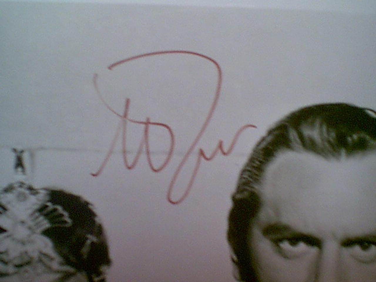 "Brynner, Yul Photo 1959 ""Solomon & Sheba"" Signed Autograph Movie Scene"