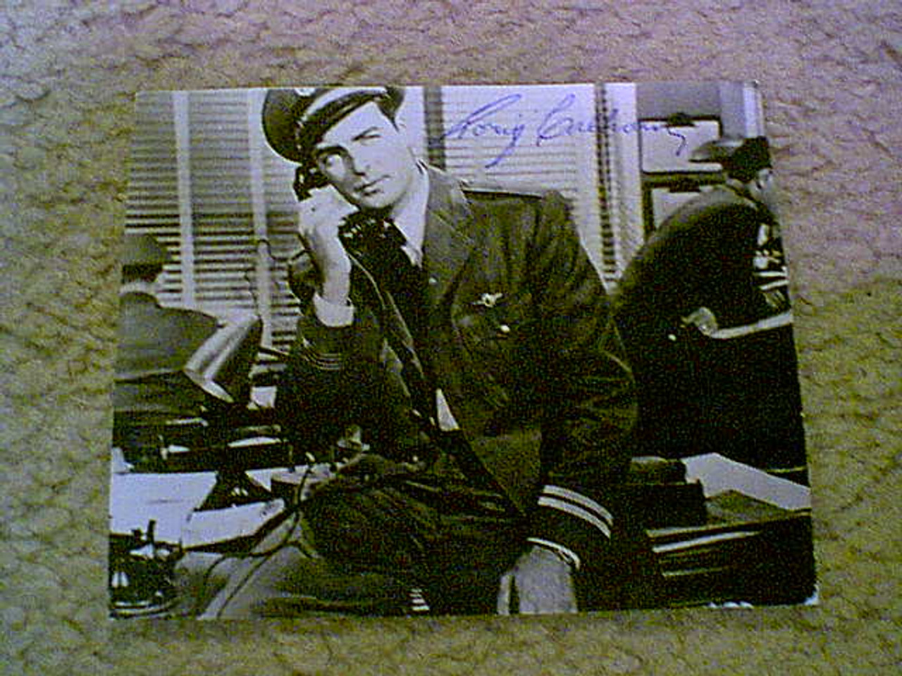 Calhoun, Rory Photo 1950'S Signed Autograph