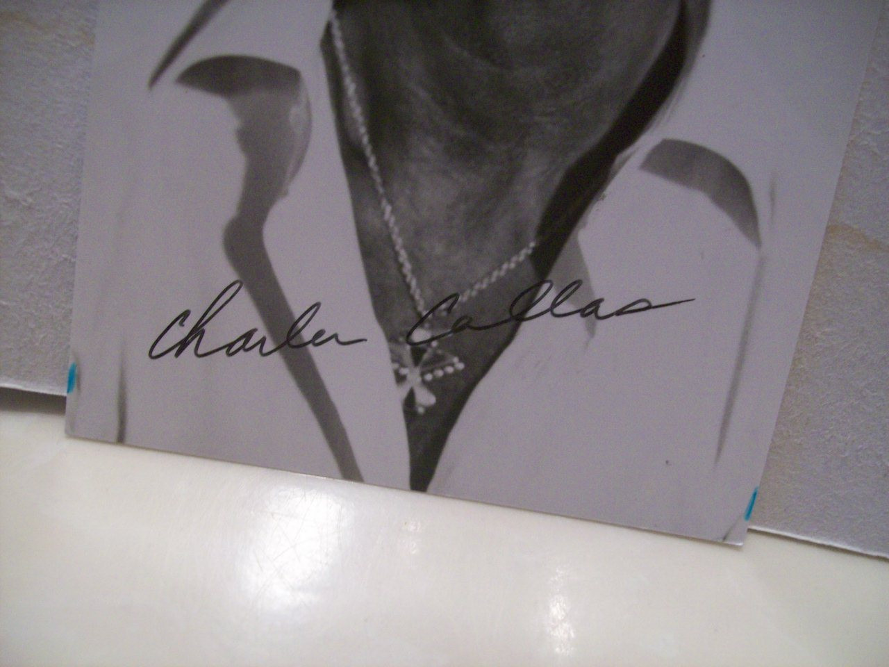 Callas, Charlie Photo Signed Autograph Mel Brooks History Of The World Silent Movie