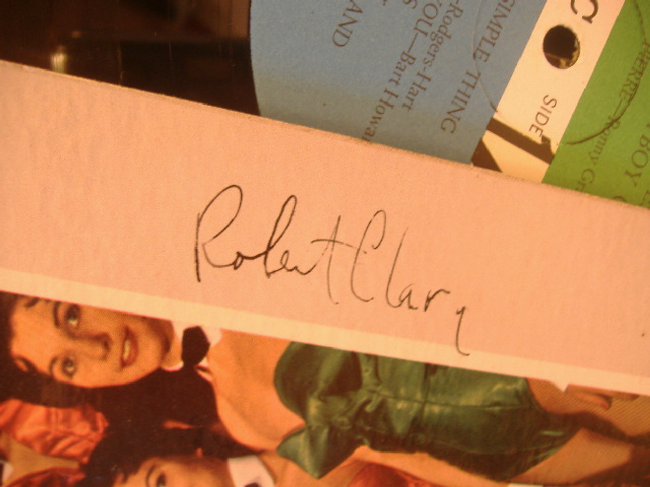 "Clary, Robert (Atl - 8053) ""At The Playboy Club"" Original Innersleeve"