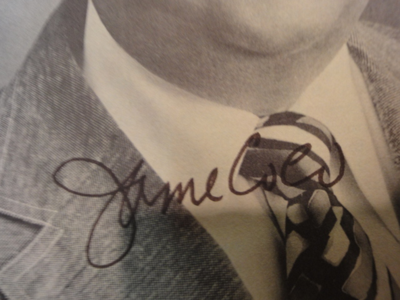 Coco, James Photo Signed Autograph