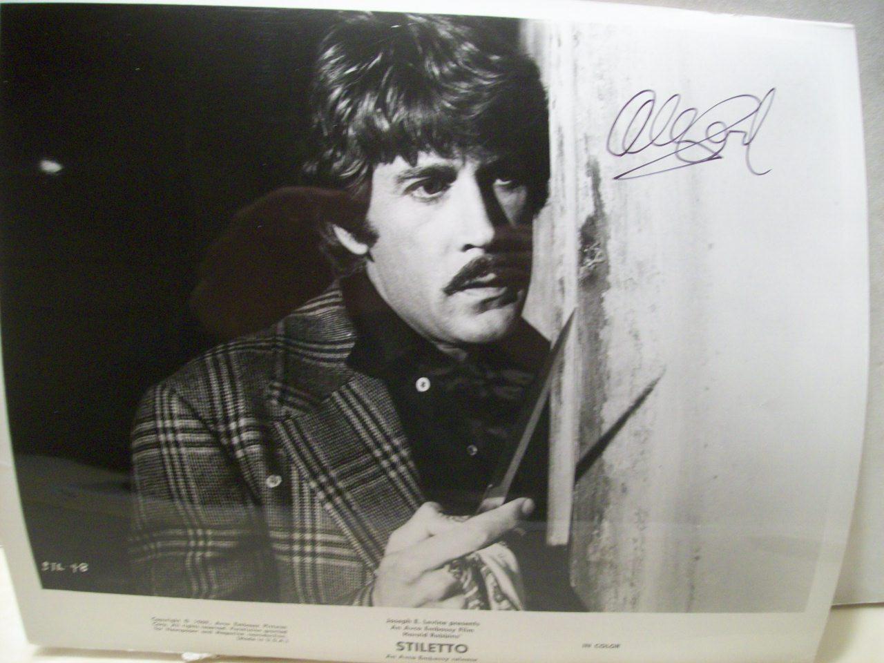 Cord, Alex Photo Signed Autograph Airwolf