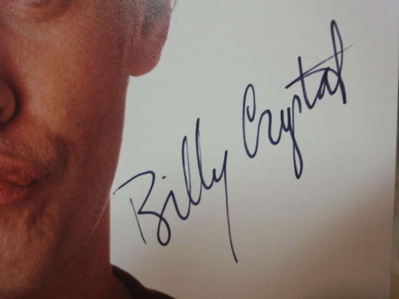 Crystal, Billy Color Photo Signed Autograph