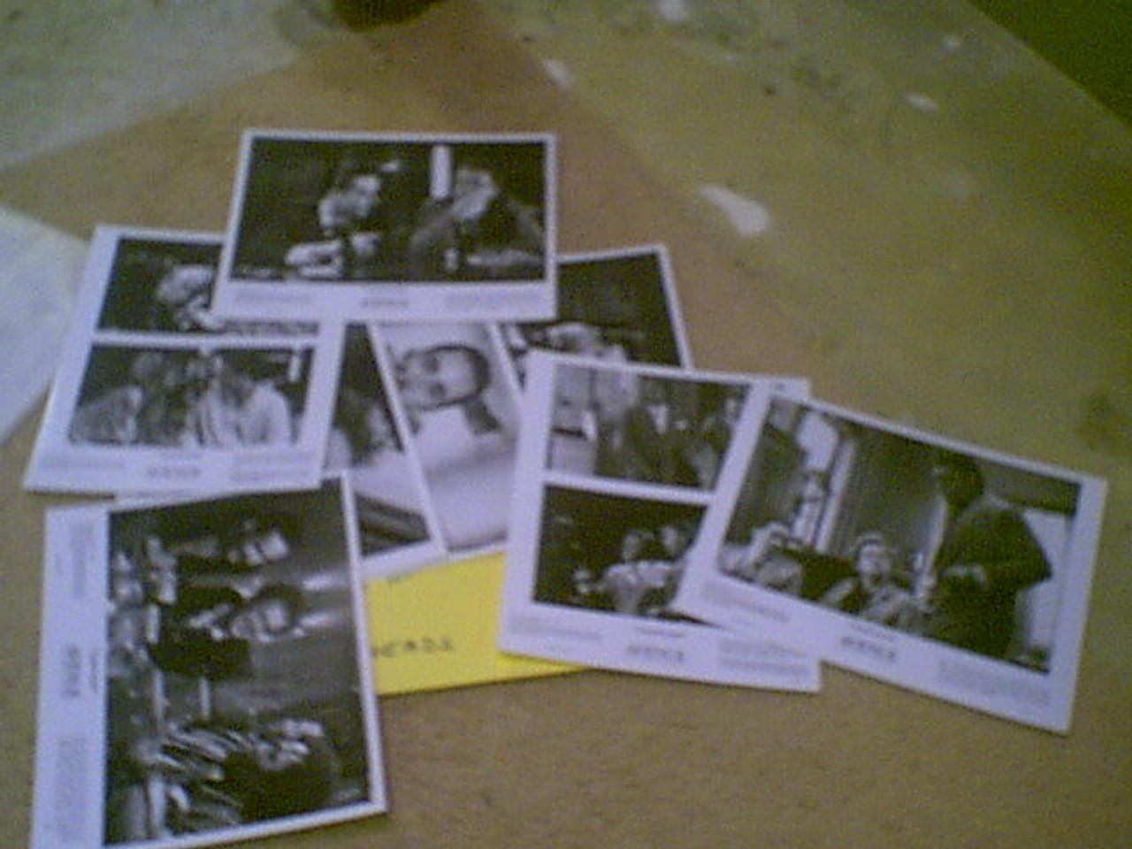 "Cusack, John & Tim Robbins ""Tapeheads"" 1988 Press Kit Signed Autograph 8 Photos"