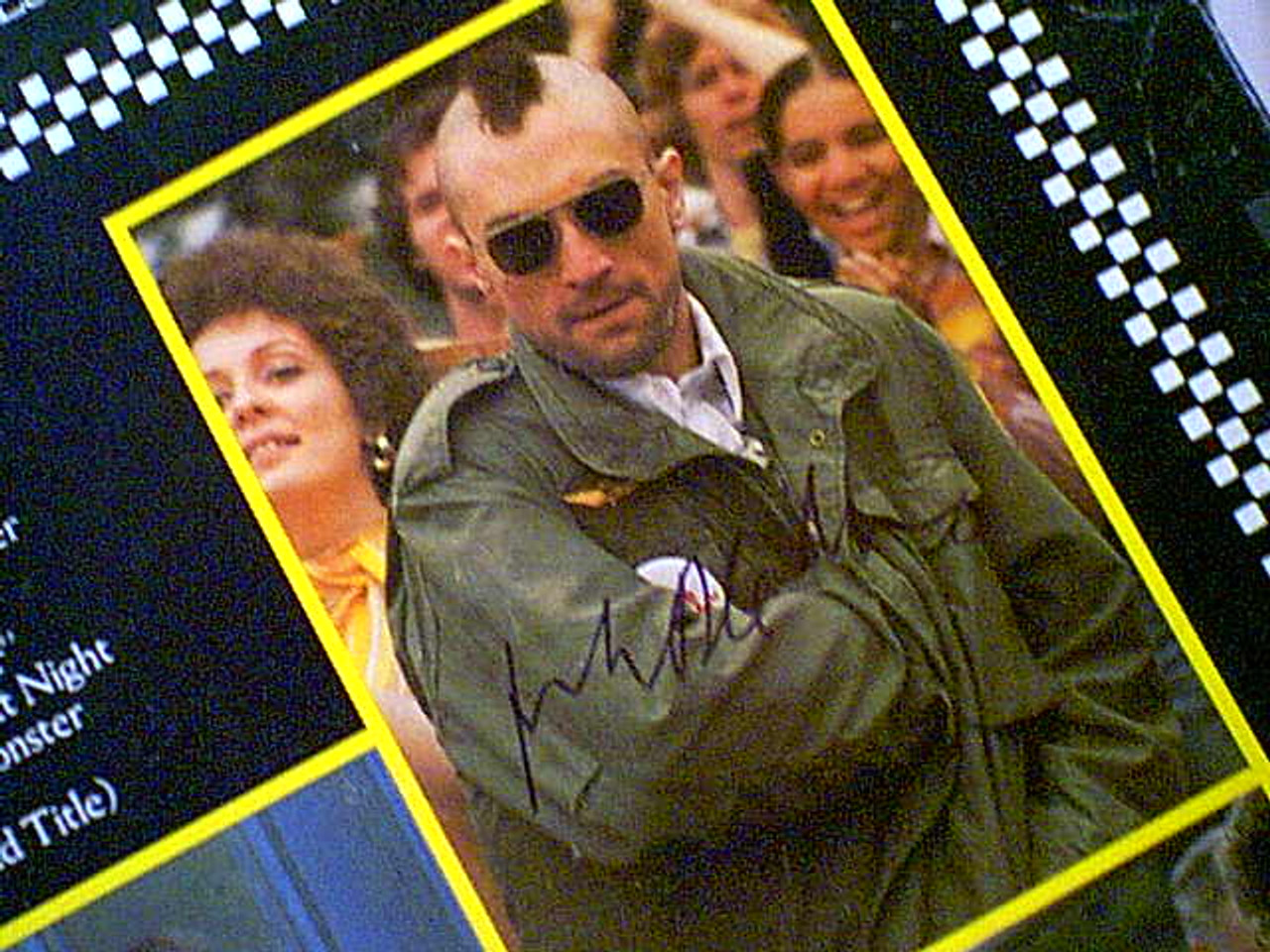"De Niro Deniro, Robert ""Taxi Driver"" 1976 LP Signed Cybill Shepherd Harvey Keitel Jody Foster Autograph Photos"