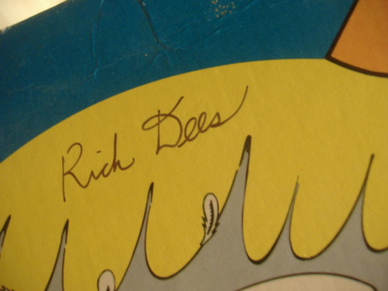 Dees, Rick LP Signed Autograph The Original Disco Duck 1977