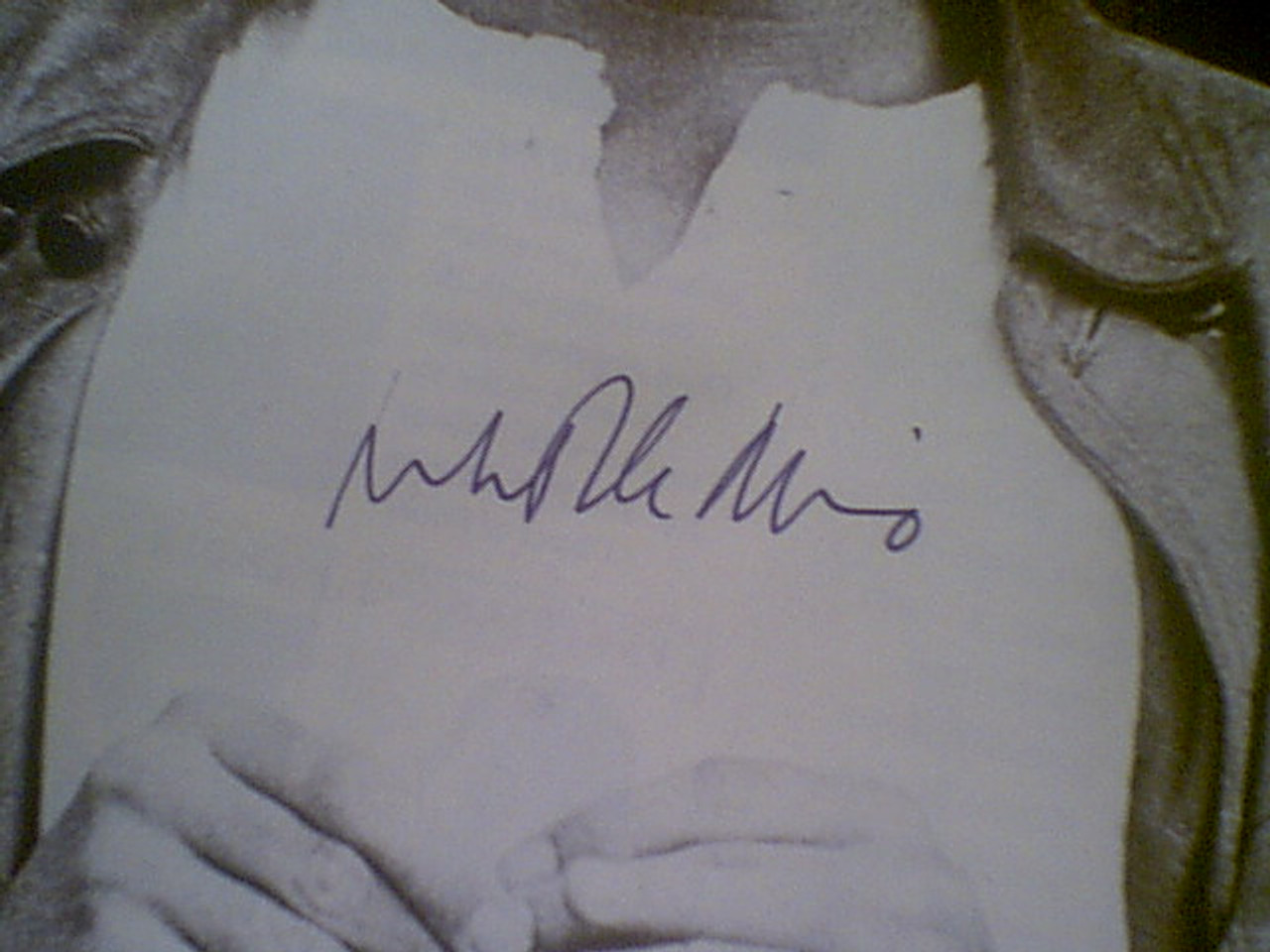 Deniro De Niro, Robert Early Photo Signed Autograph