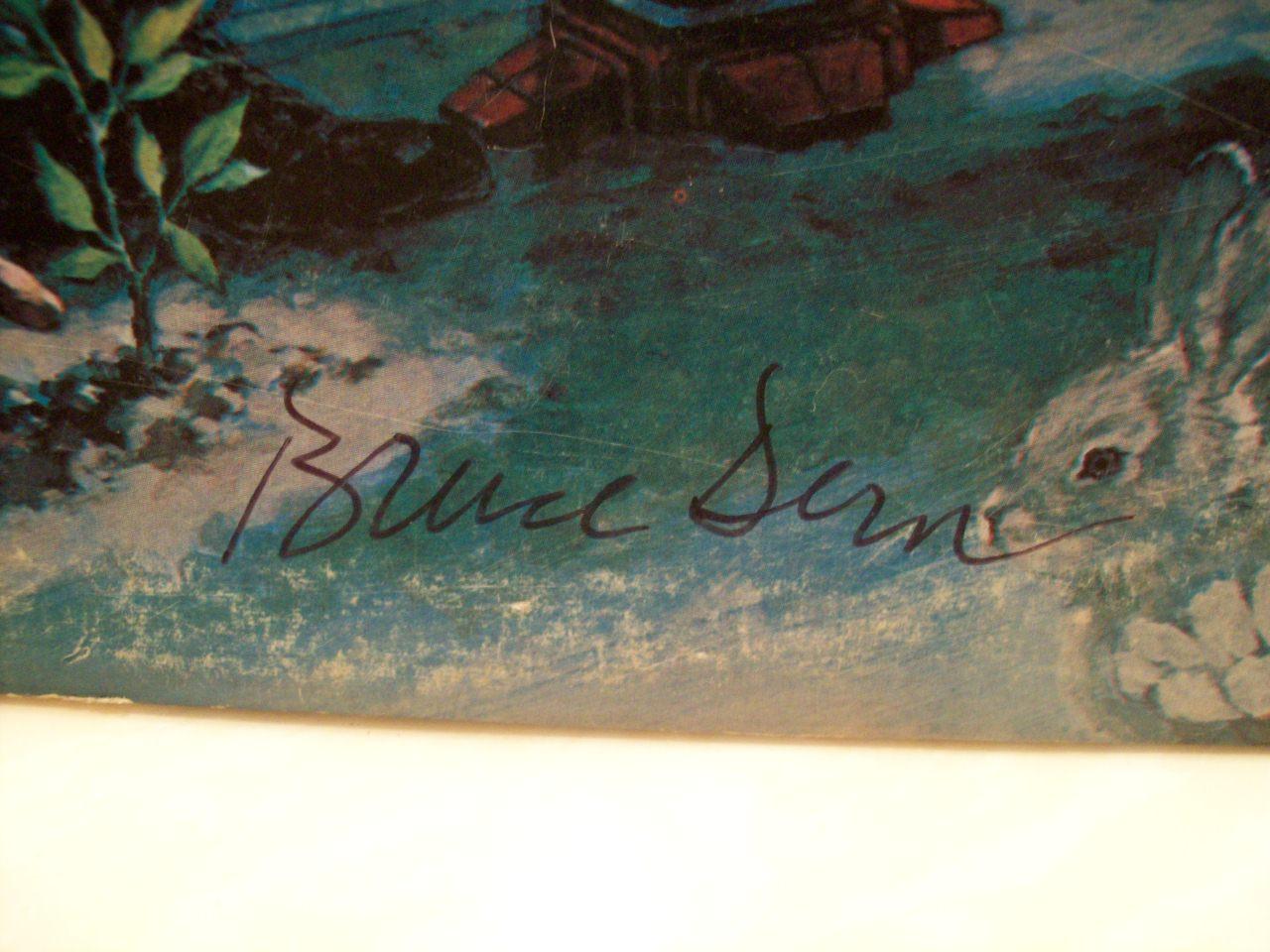 Dern, Bruce LP Signed Autograph Silent Running 1971