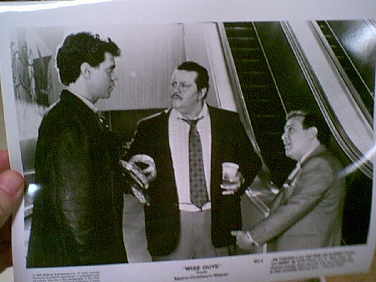 "Devito, Danny Joe Piscopo ""Wise Guys"" 1986 Press Kit Signed Autograph 7 Photos"