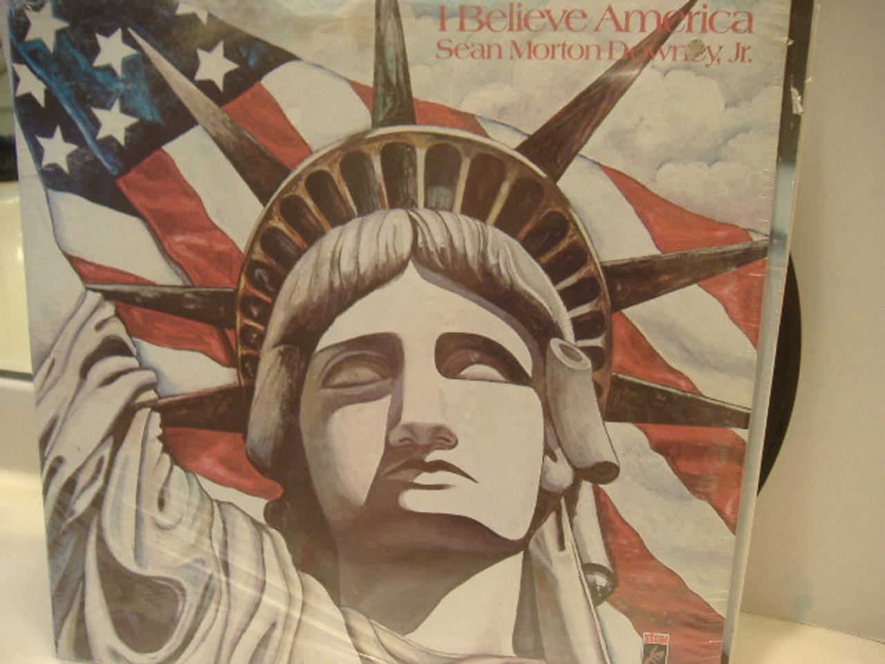 Downey Jr, Sean Morton LP Signed Autograph Sealed I Believe America
