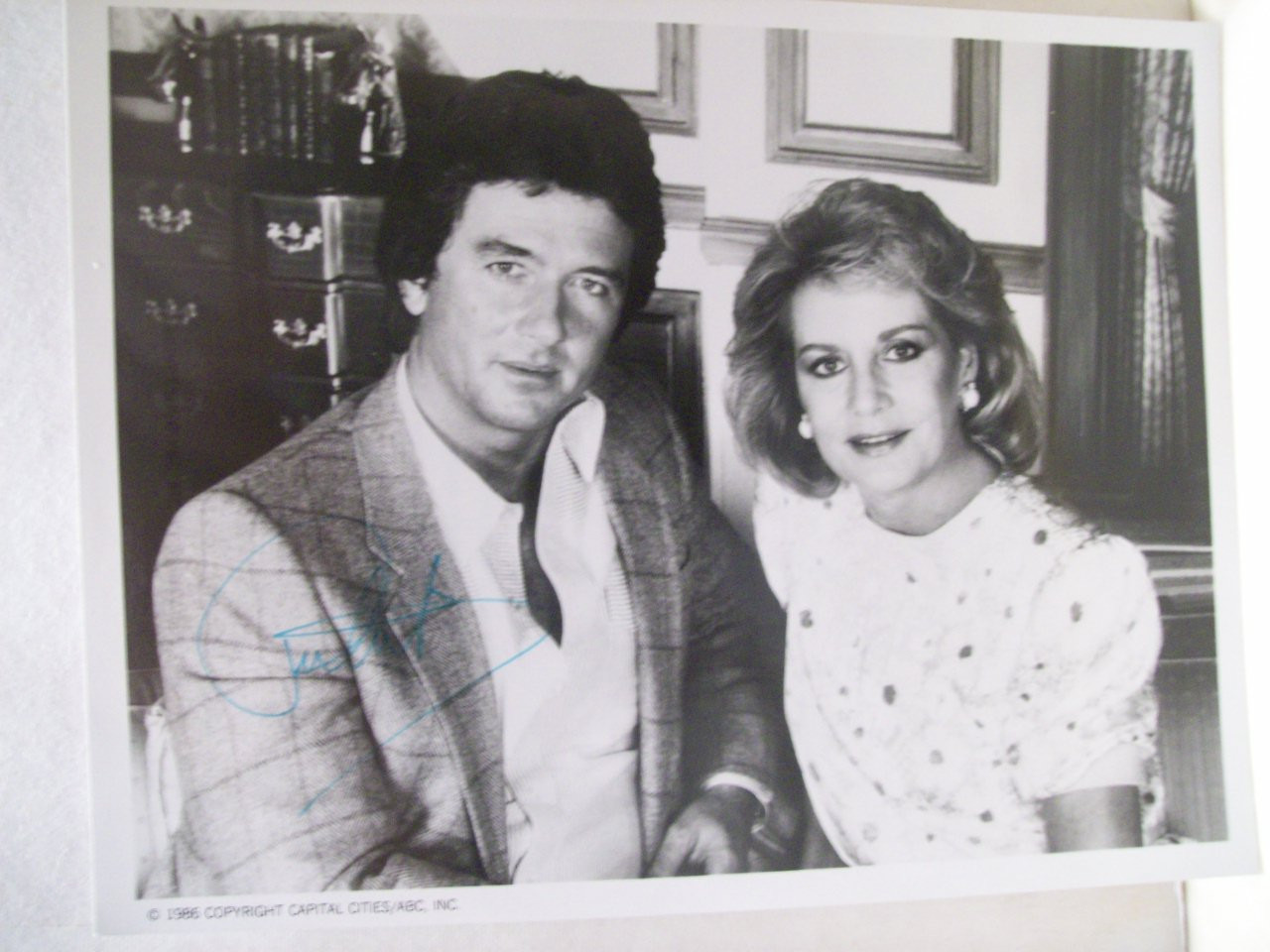 Duffy, Patrick Photo Signed Autograph Barbara Walters Special 1987