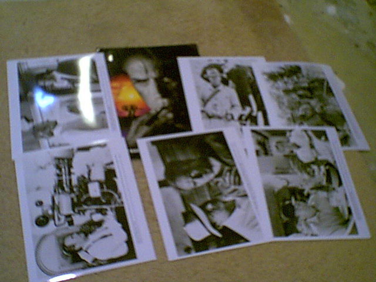 "Eastwood, Clint ""White Hunter Black Heart"" 1990 Press Kit Signed Autograph 6 Photos"