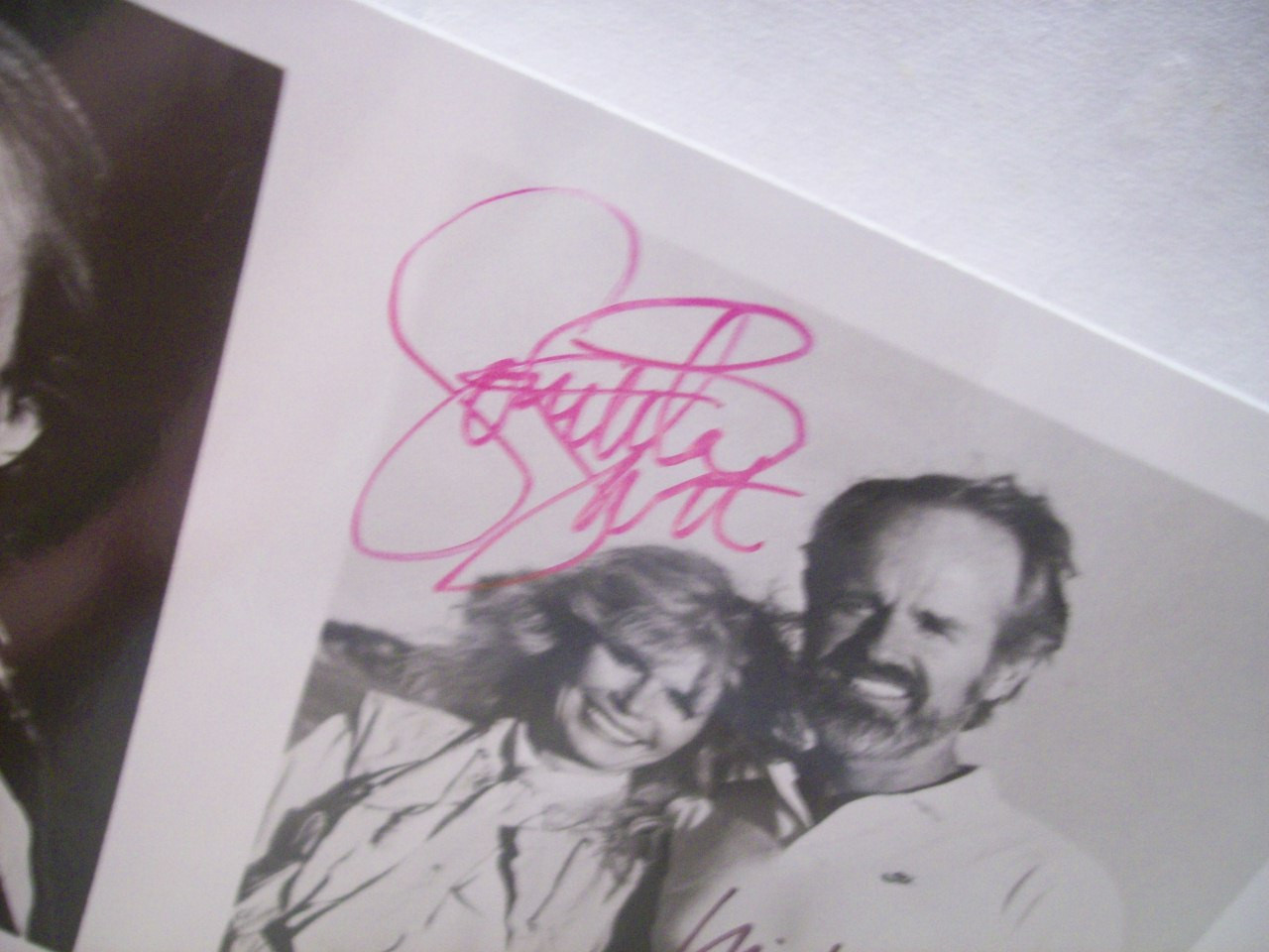 Farrell, Mike Loretta Swit Photo Signed Autograph Saving The Wildlife