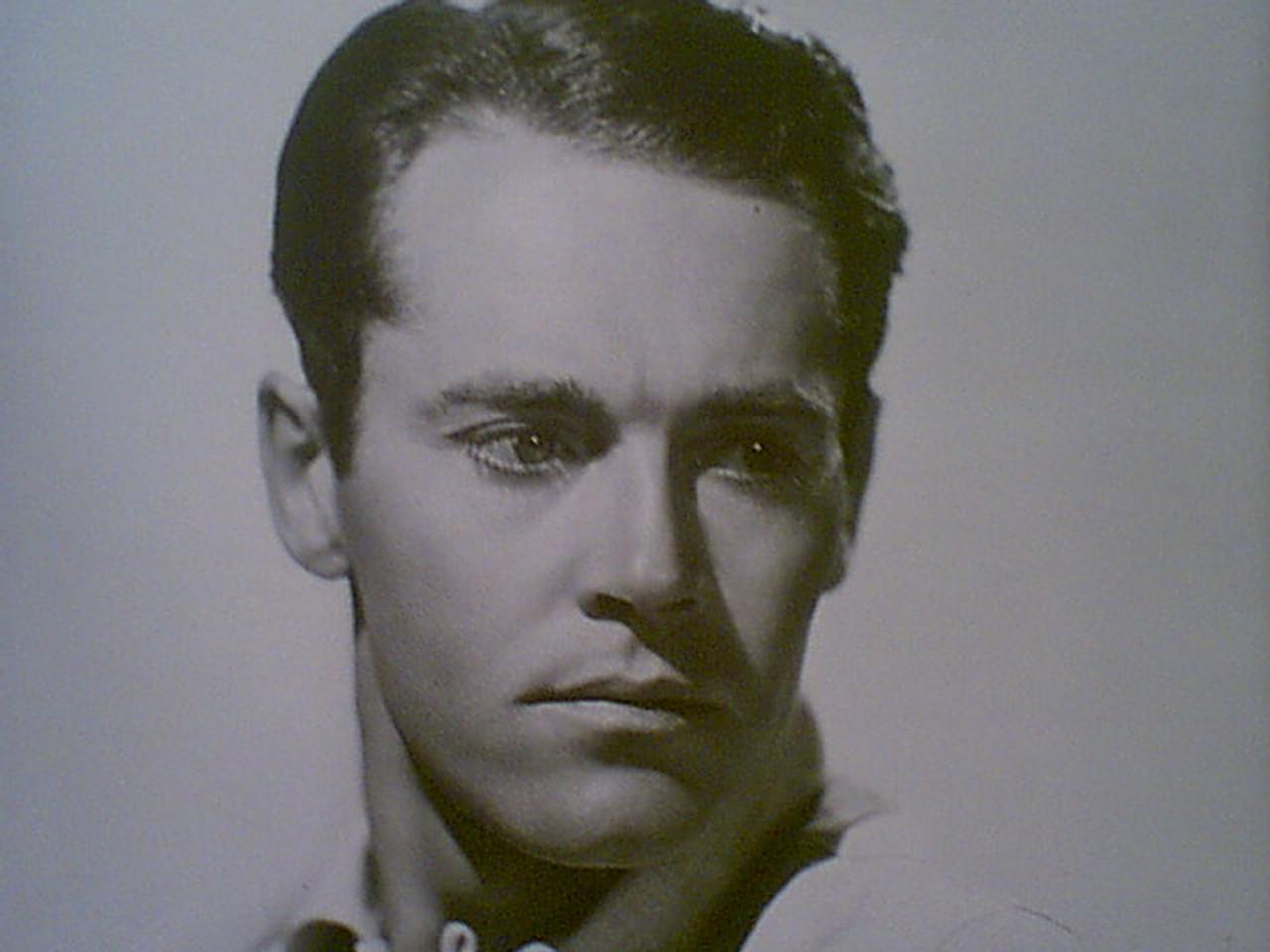 Fonda, Henry Early Photo Signed Autograph