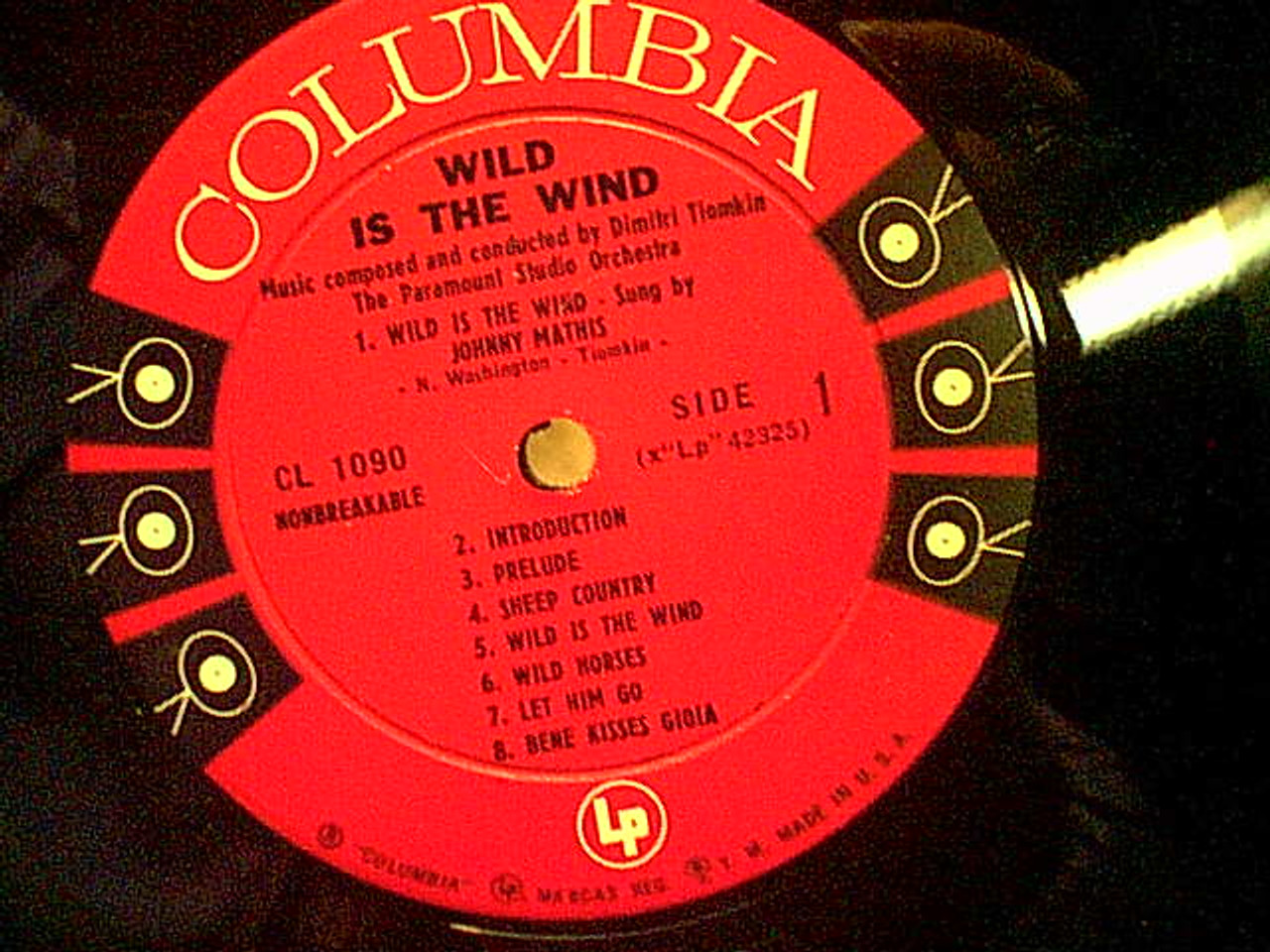 """Franciosa, Tony Anthony Anna Magnani Anthony Quinn """"Wild Is The Wind"""" 1957 LP Signed Autograph Photos Theme"""