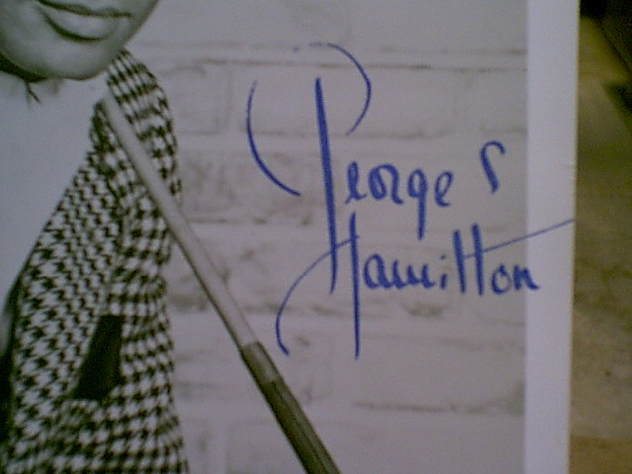Hamilton, George 1960'S Photo Signed Autograph