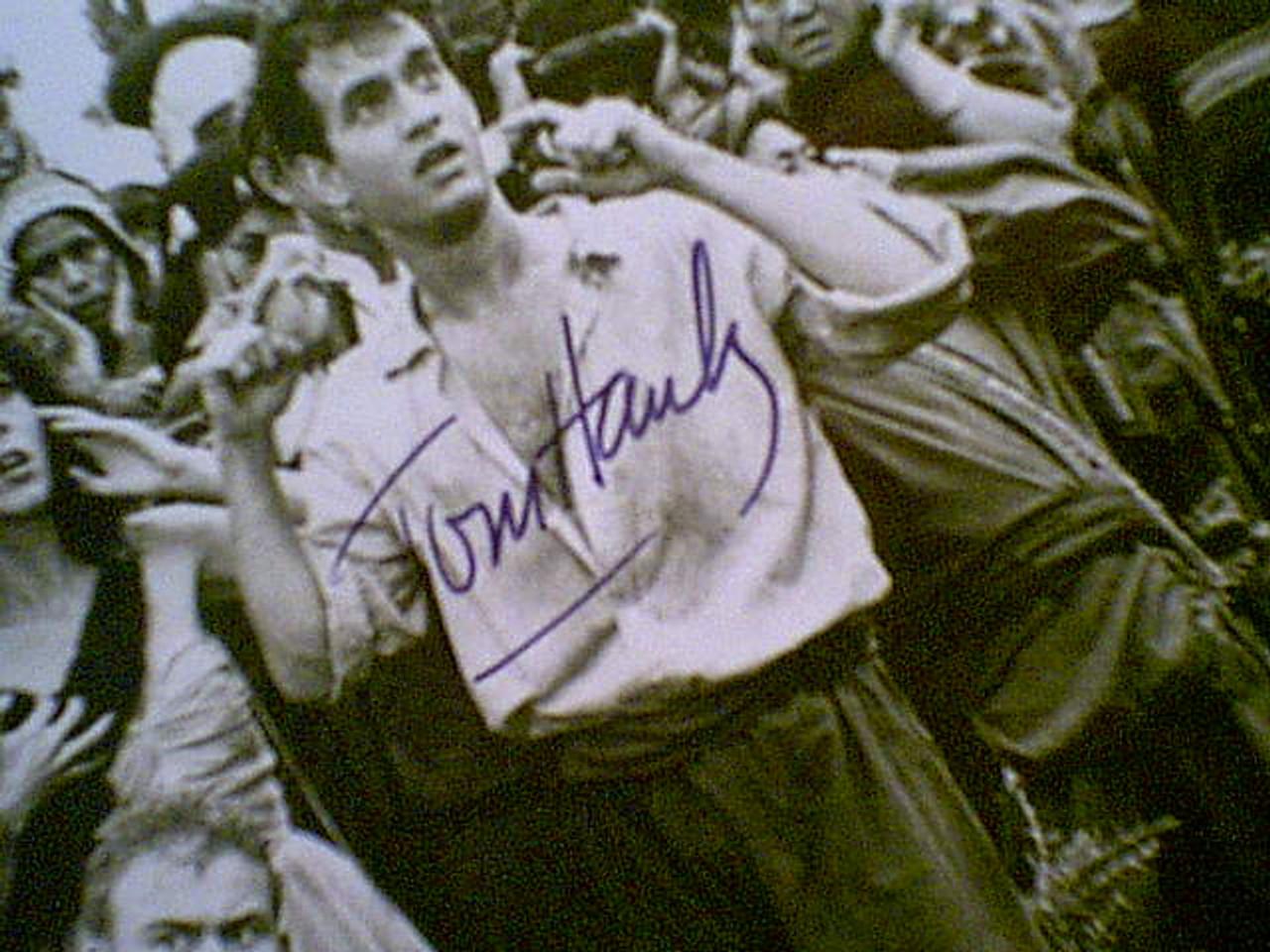 "Hanks, Tom 1985 Photo ""Volunteers"" Signed Autograph Movie Scene"