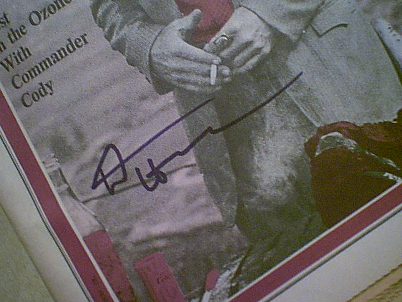 Hopper, Dennis 1970 Rolling Stone Magazine Signed Autograph Cover Photo