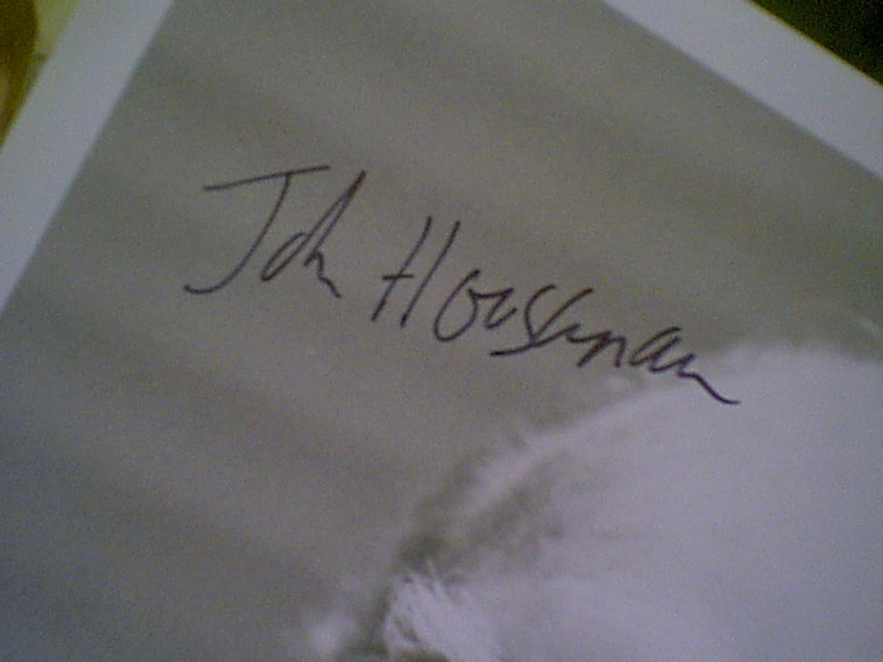 Houseman, John 1988 Photo Signed Autograph