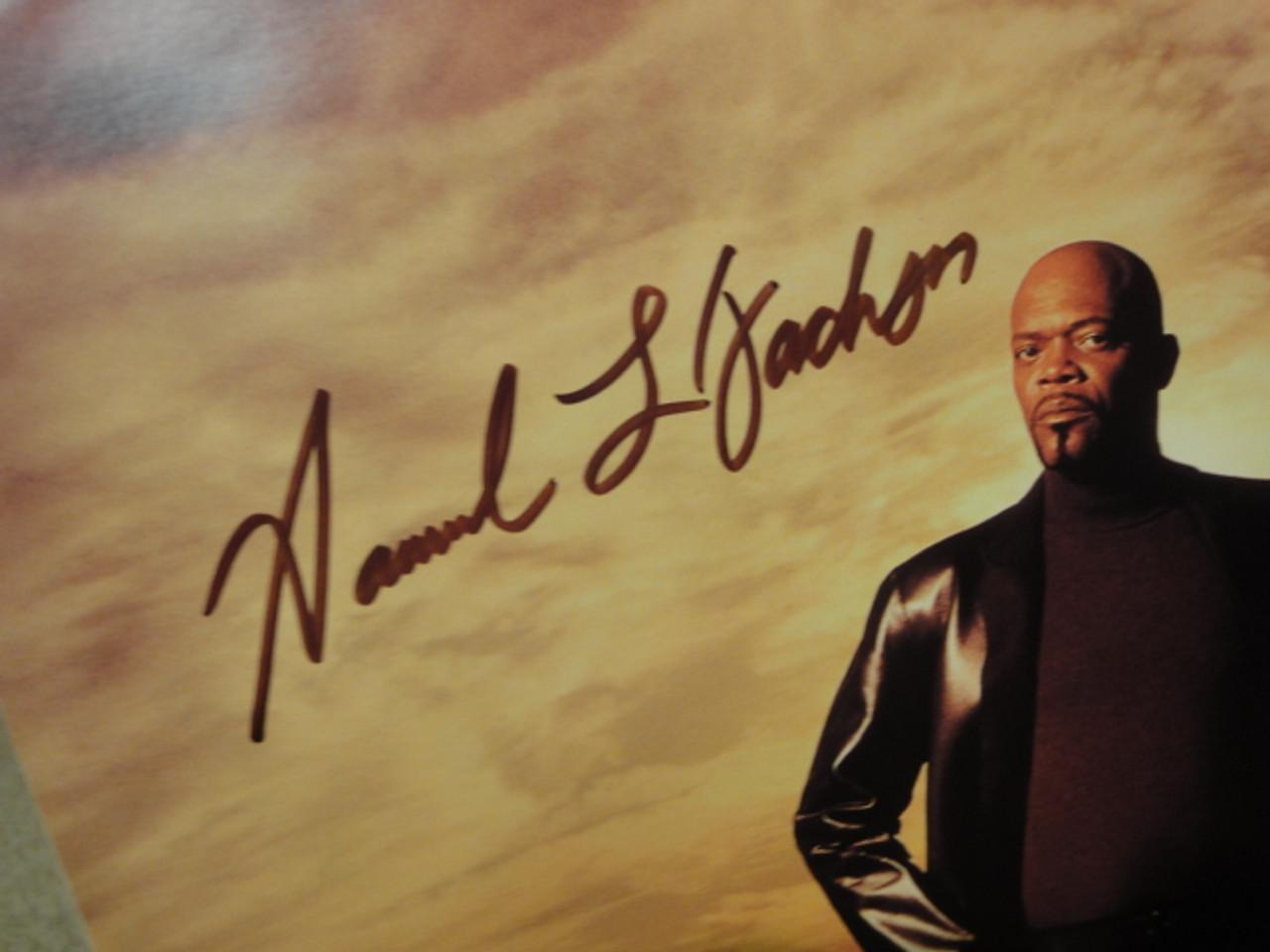 Jackson, Samuel L. Color Photo Signed Autograph