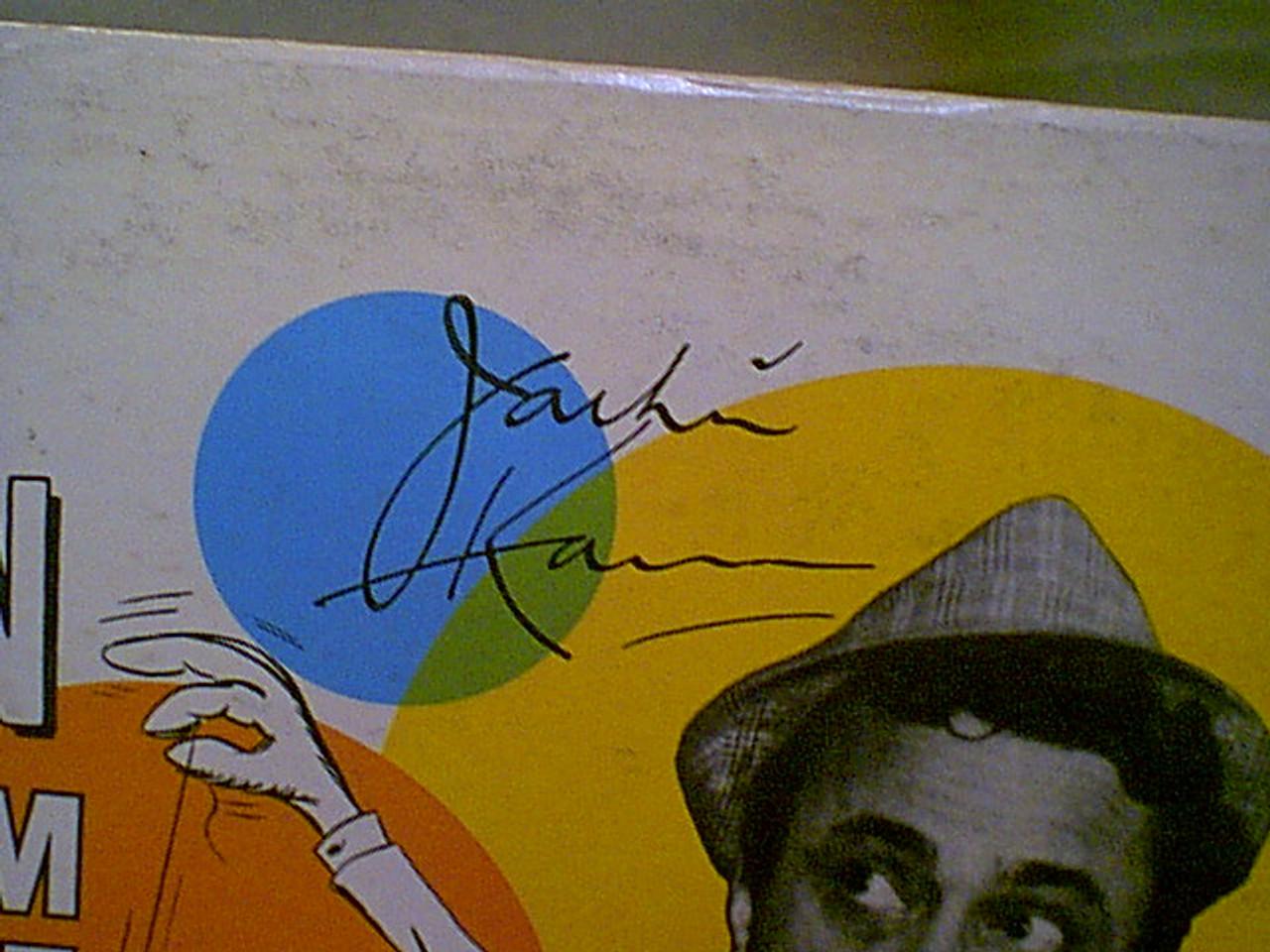 Kannon, Jackie LP Signed Autograph Live From The Ratfink Room Roulette