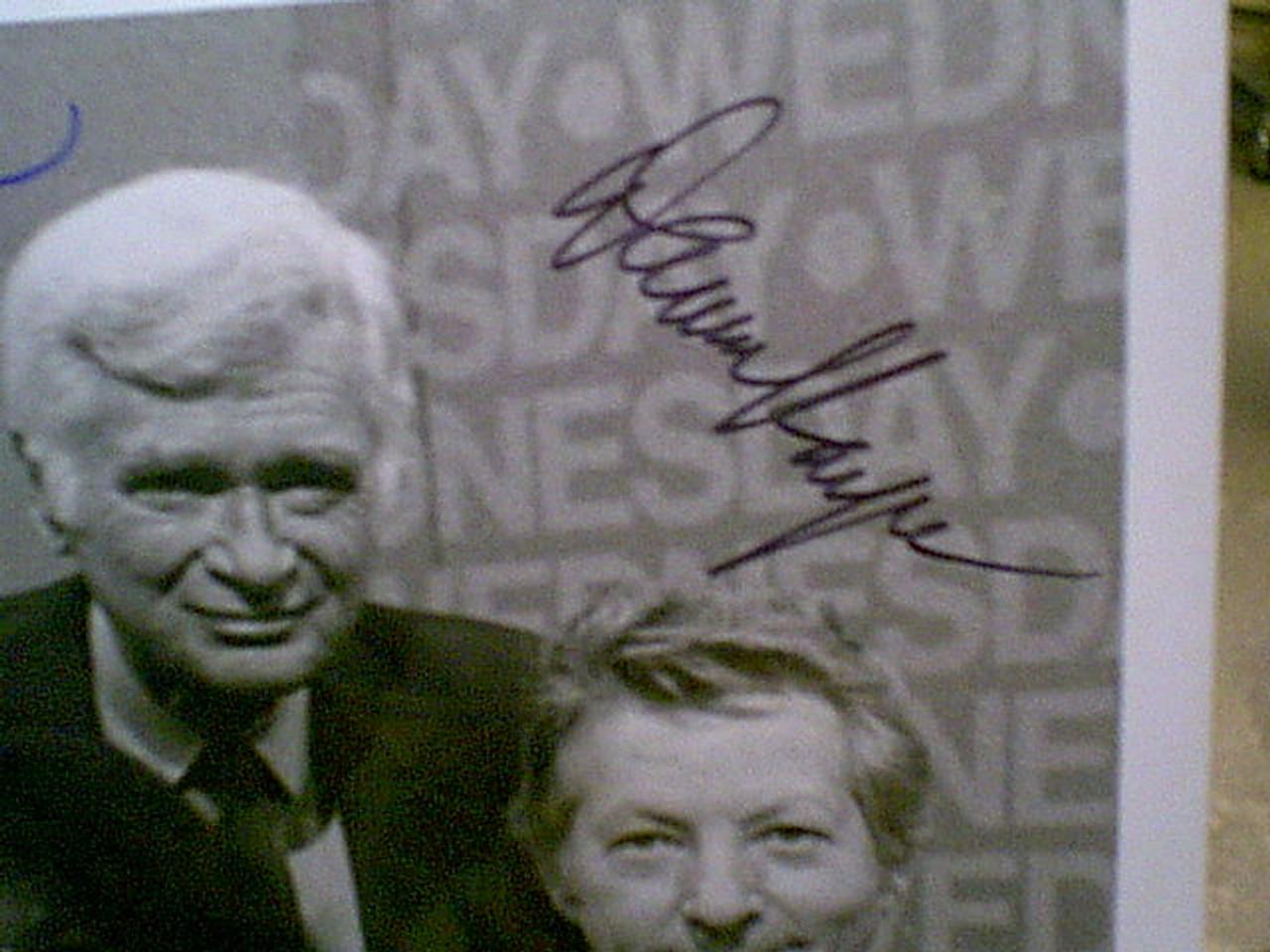 "Kaye, Danny Buddy Ebsen Dick Van Dyke 1978 Photo Signed Autograph ""Cbs On The Air"""
