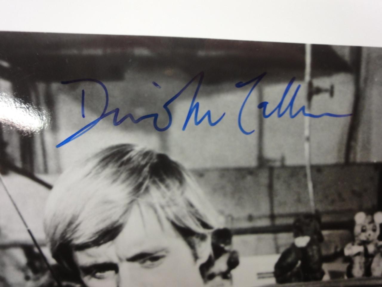 Man from UNCLE U.N.C.L.E. Robert Vaughn David McCallum Photo Signed Autograph Television Scene
