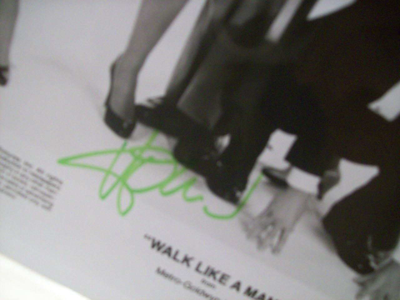 Mandel, Howie Christopher Lloyd Photo Signed Autograph Walk Like A Man 1987