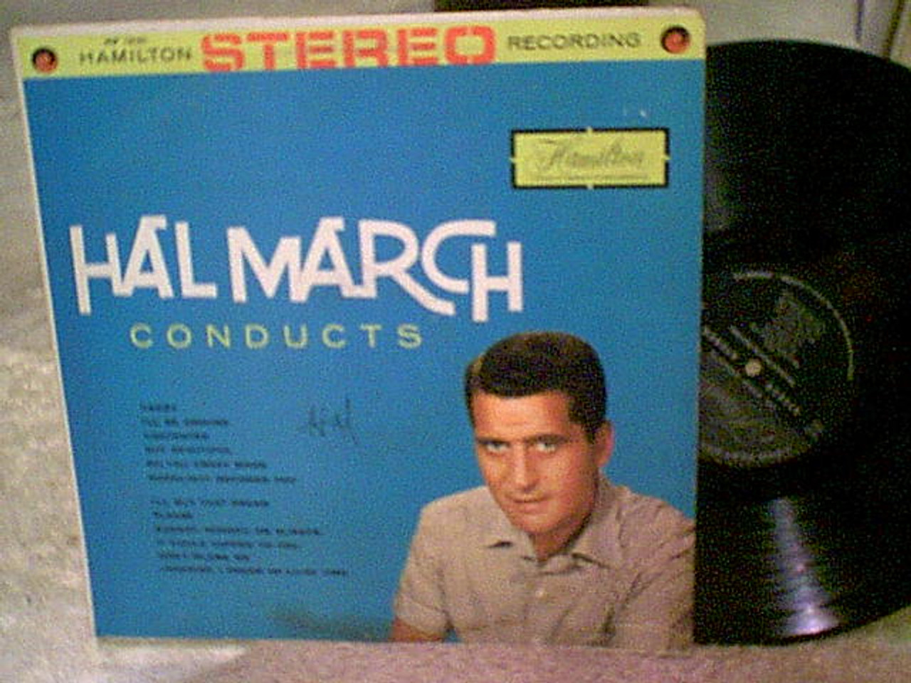 March, Hal LP Signed Autograph Conducts