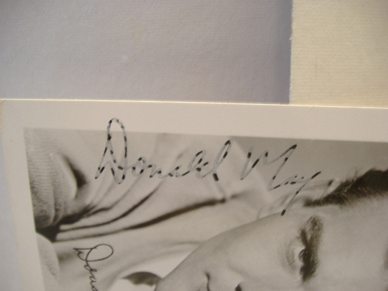 May, Donald Photo Signed Autograph One Life To Live
