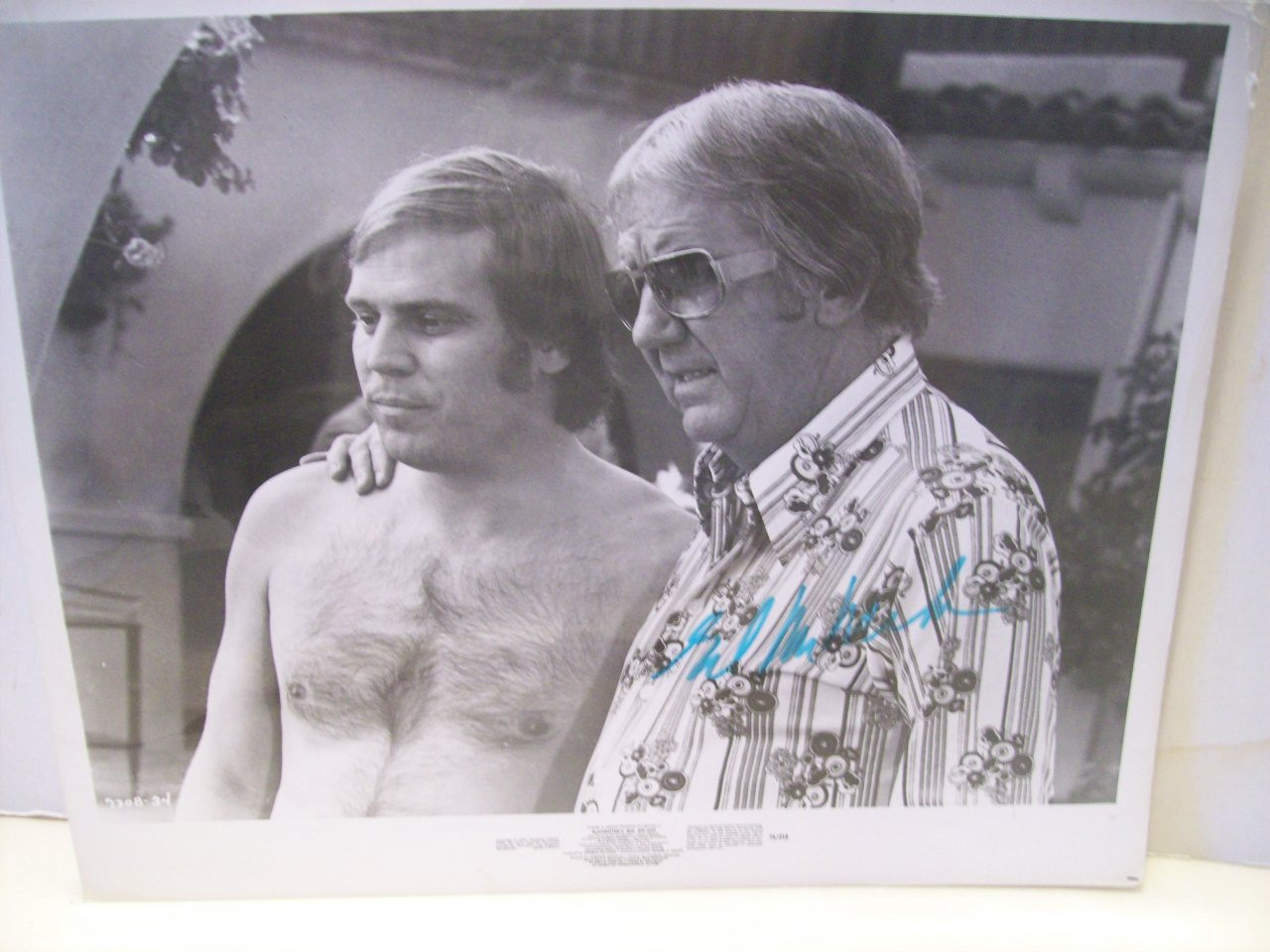 McMahon, Ed Photo Signed Autograph Slaughter's Big Rip Off 1973