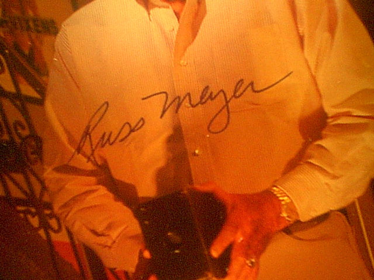 Meyer, Russ Color Photo Signed Autograph