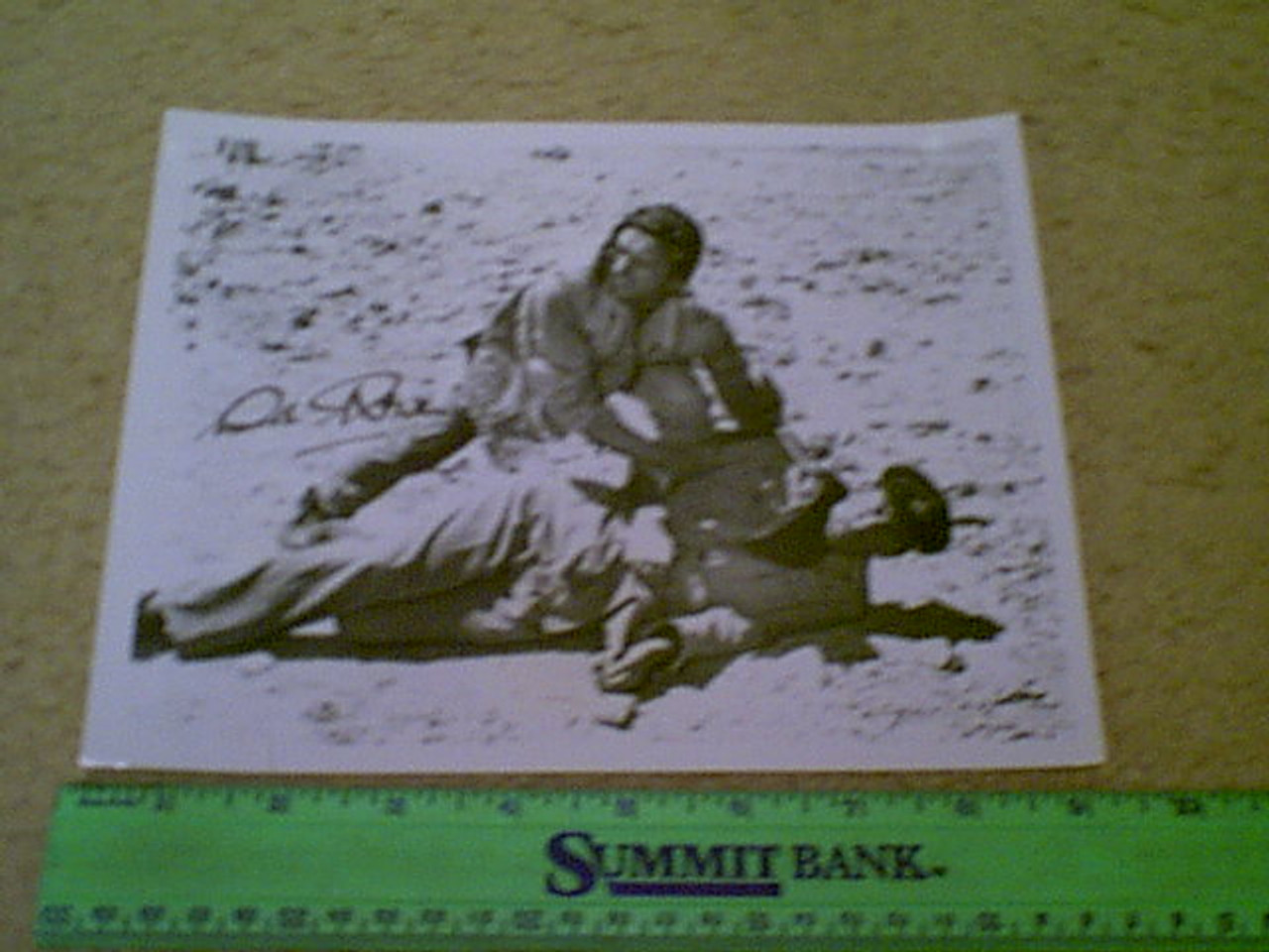 """Niven, David 1962 Photo """"The Best Of Enemies"""" Signed Autograph Movie Scene"""