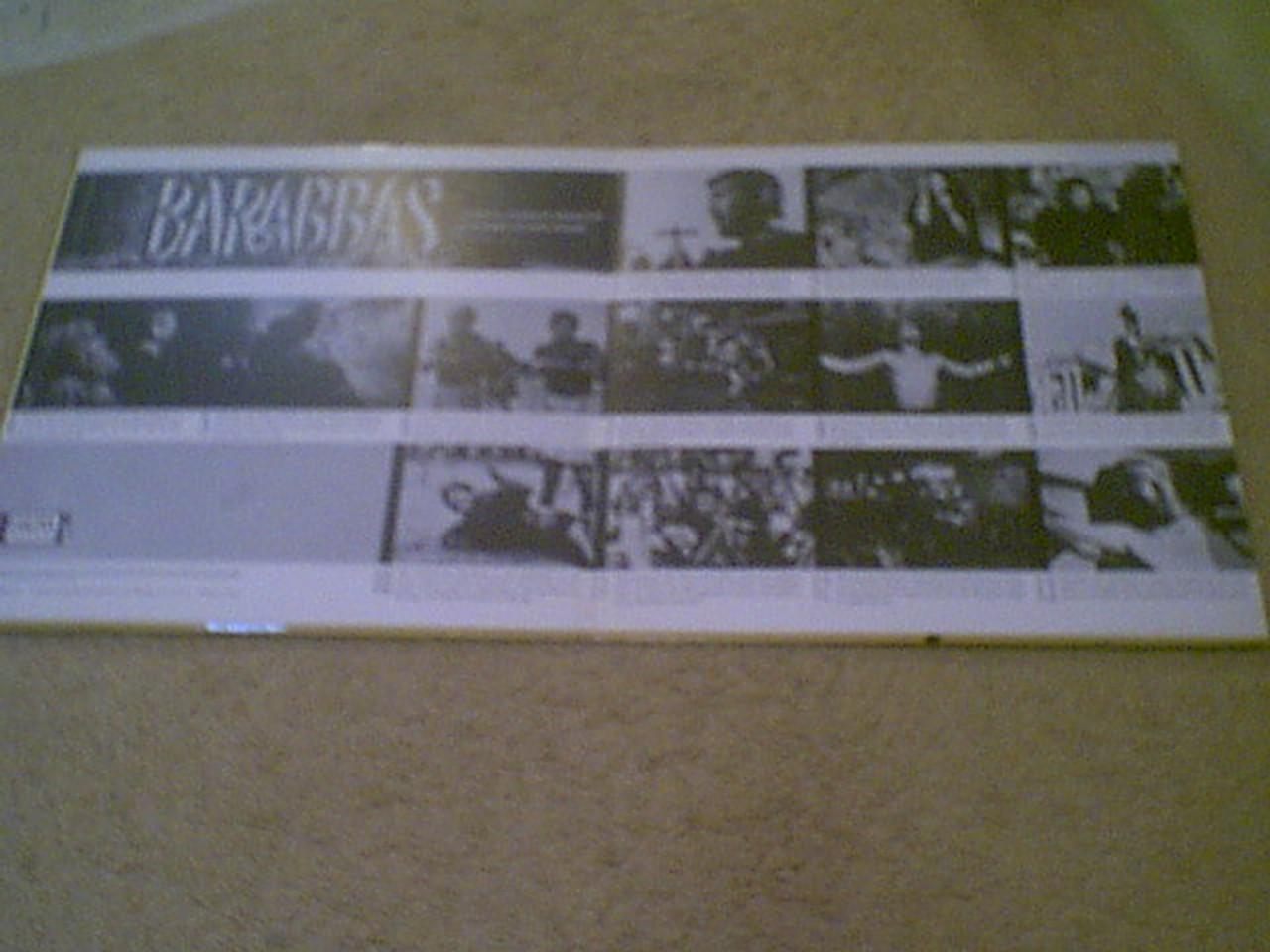 "Palance, Jack Anthony Quinn Silvana Mangano ""Barabbas"" 1962 LP Signed Autograph Photos"