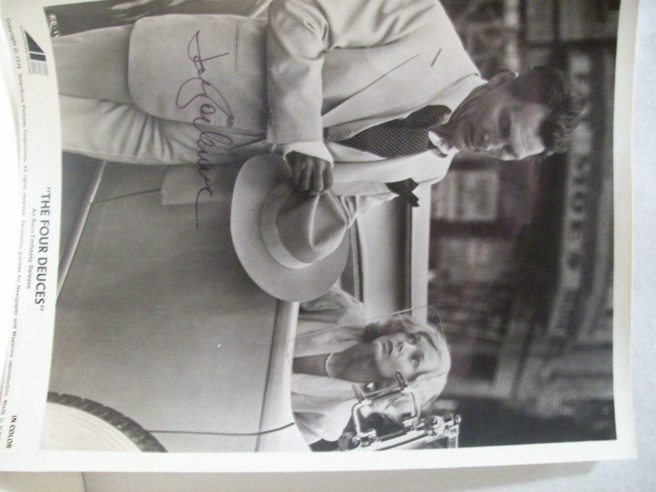 Palance, Jack Photo Signed Autograph The Four Deuces 1974