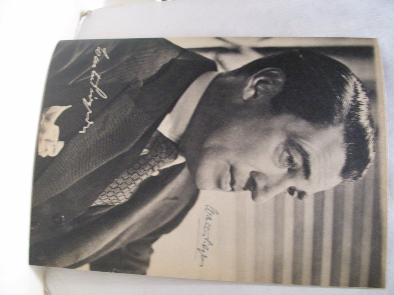 Pidgeon, Walter Photo Signed Autograph